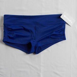 Athleta Swim Bottom Womens XL Blue Boy Short NWT